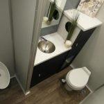 Portable Restroom Toilet nice interior