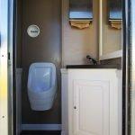 Portable Restroom Toilet Interior