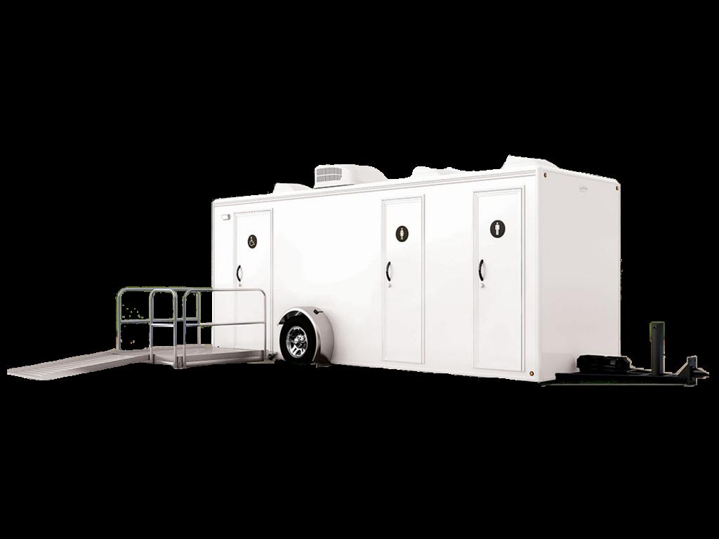 Portable Restroom Toilet Exterior