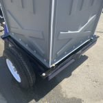 Portable Toilet Restroom on Trailer