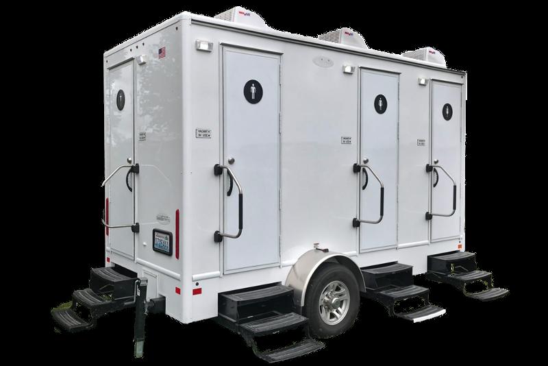 porta lisa 4 stall luxury restroom trailer