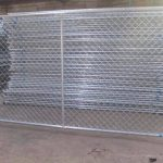 temporary chainlink fence #4
