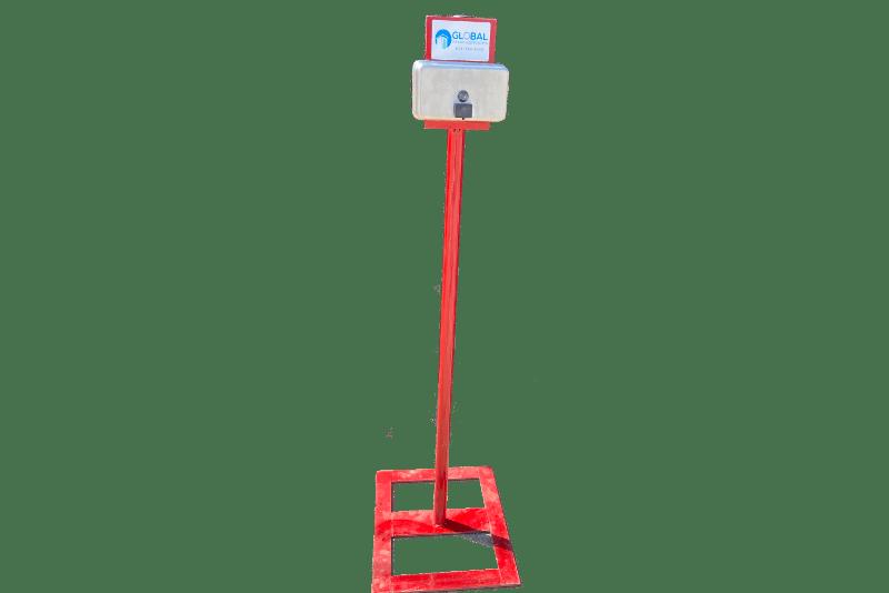 hand sanitation stand